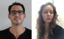 Diego Gurvich y Laura Hoorn