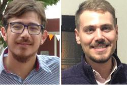 Eliseo Morán y Juan Carlos Meillard