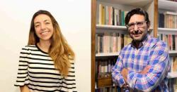 Lara Goyburu y Sergio Morresi