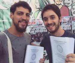 Luciano Sáliche y Andrés Correa