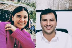 Paula del Turco y Leandro Giordani