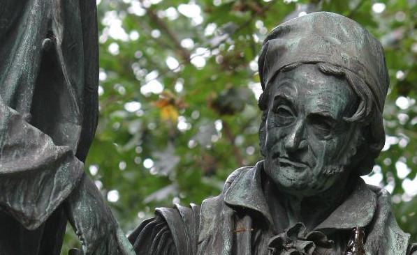 Estatua de Gauss en Göttingen.