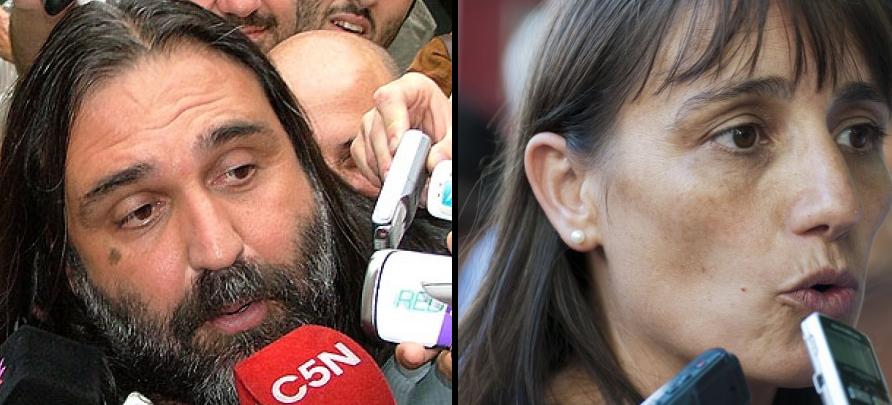 Roberto Baradel / Romina Del Plá