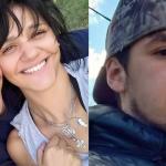 Alfredo Turcumán  y su asesina, Claudia Moya (izquierda). A la derecha, Claudio Ayuso.